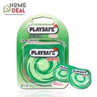 Playsafe Easy Pack Air Ultra Thin 2's (PLAYSAFE 避孕套润滑超薄 0.02情趣2片装 )