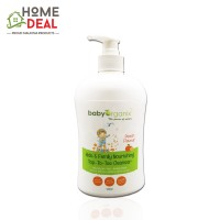 Baby Organix Kids & Family Nourishing Top to Toe Cleanser 400ml (Peach) (Baby Organix家庭身体肥皂-桃子)