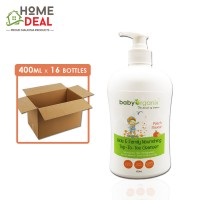 Baby Organix - Kids & Family Top-to-Toe Cleanser - Peach - 400 ml x 16 bottles (Wholesale)