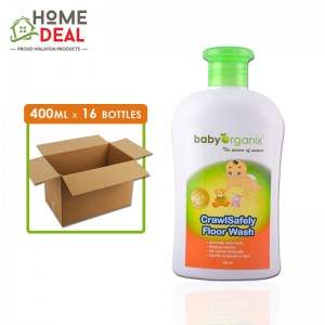 Baby Organix - Crawl Safely Floor Wash - 400 ml x 16 bottles (Wholesale)