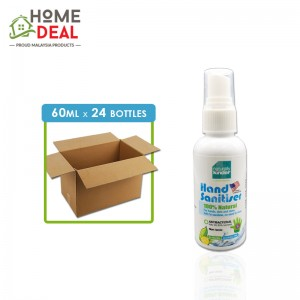 Baby Organix - Naturally Kinder Hand Sanitiser - 60 ml x 24 bottles (Wholesale)