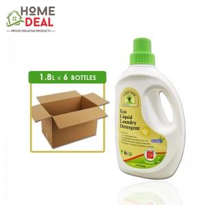 Baby Organix - Eco Liquid Laundry Detergent - 1.8 Liters x 6 bottles (Wholesale)