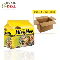 Ibumie - Miso Mee Sup - 80 grams x 5 x 12 packs (Wholesale)