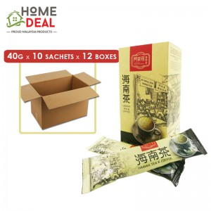 Ah Weng Koh - Hainan Tea - 40 grams x 10 sachets x 12 boxes (Wholesale)