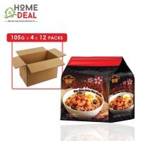 Red Chef - Spicy Sakura Prawn Noodles - 4 x 105 grams x 12 packs (Wholesale)