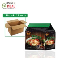 Red Chef - Green Tom Yum Soup Noodles - 4 x 110 grams x 12 packs (Wholesale)