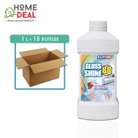 Kleenso - Gloss & Shine 88 Floor Cleaner 1L x 15 bottles (Wholesale)