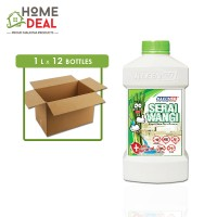 Kleenso - Serai Wangi Liquid Wax Floor Cleaner 1L x 12 bottles (Wholesale)