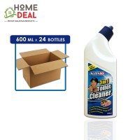 Kleenso - 3-in-1 Toilet Cleaner (Sarsi) 600ml x 24 bottles (Wholesale)