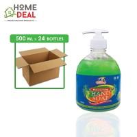 Kleenso - Moisturising Hand Soap (Green Apple) 500ml x 24 bottles (Wholesale)