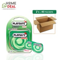 Playsafe - Easy Pack Air Ultra Thin 2's x 40 packs (Wholesale)