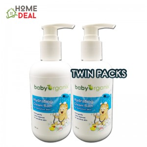 Baby Organix - Hydrating Cream Bath - 250ml (TWIN PACKS)