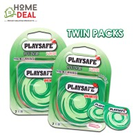 Playsafe Easy Pack Air Ultra Thin 2's TWINPACKS