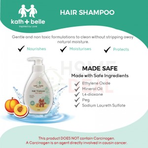 Kath + Belle Hair Shampoo 250ml (Peach) (Kath + Belle洗发水-桃子)