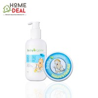 Baby Organix Eczema Travel Set- ( Hydrating Cream Bath 40ml &  Nature First Aid 20g )