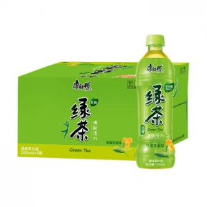 Master Kang Drinks Series 500ml (10 bottles) 康师傅绿茶/冰糖雪梨/冰红茶/蜂蜜柚子/芒果小酪/蜜桃小酪 10瓶
