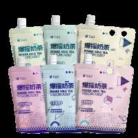 Shake Milk Tea Vigorously 53g (10 packs) 果遇茶爆摇奶茶 茉莉奶绿/阿萨姆/锡兰/四季春/烤香/蜜香 10包