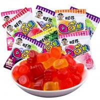 WangZai QQ Candy 20g (5 packets) 旺仔QQ糖荔枝/可乐/青苹果/葡萄/蓝莓/香橙/水蜜桃/菠萝/草莓