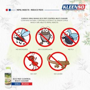 Kleenso Pest Control Multi Cleaner 1L Pencuci Lantai Pest Repellent