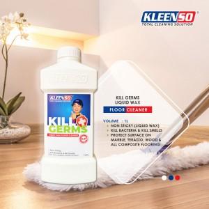 Kleenso Kill Germs Liquid Wax Floor Cleaner 1 Litre (TWINPACK) Pencuci Lantai