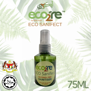 ECO2RE Eco Sanifect Alcohol Free Hand Sanitiser 75ML