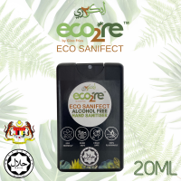 ECO2RE Eco Sanifect Alcohol Free Hand Sanitiser 20ML (Black)