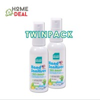 Baby Organix Naturally Kinder Hand Sanitiser 60ml (TWINPACK) / Baby / Alcohol Free / Kids