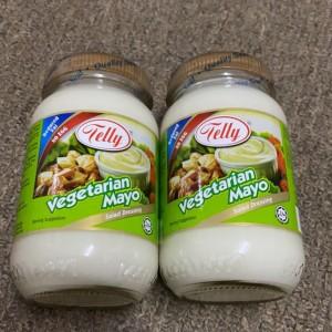 Telly Salad Dressing Vegetarian Mayo 230ml / Salad Dressing / No Egg / Mayonnaise