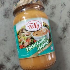 Telly Salad Dressing Thousand Island 230ml / Salad Dressing / Mayonnaise