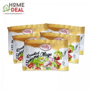 Telly Roasted Sesame Mayo 50ml x 5 Packet / Salad Dressing / Mayonnaise