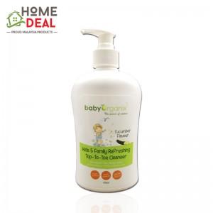 Baby Organix Kids & Family Nourishing Top to Toe Cleanser 400ml (Cucumber) (Baby Organix家庭身体肥皂-青瓜)
