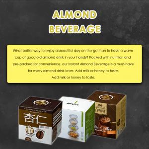 BKC Almond Beverage / Drink / Coffee 25g x 10's (马廣济杏仁饮料)