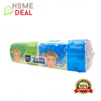 Nepia Tissues Value Pack: 12 Packages (50´s / 2ply)   (妮飘纸巾)
