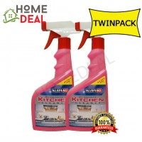 KLEENSO KITCHEN CLEANER 500ML TWIN PACK (Kleenso厨房清洗剂500ml双套)