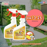 PESSO ECO CAT REPELLENT 500ML TWIN PACK (Pesso生态猫驱避剂500ml双套)
