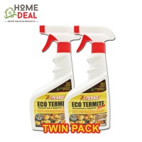PESSO ECO TERMITE PREVENTION AND REMOVAL 500ML TWIN PACK (Pesso生态白蚁预防和清除500ml双套)