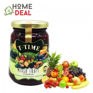 T-Time Mix Fruit Conserve Jam 450g (T-Time混合果酱)