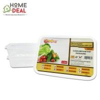GoCod - Rectangular Food Container 500ml (GoCod 长方形食物容器)