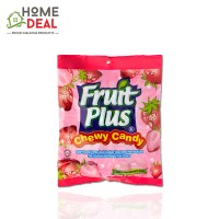 Fruit Plus Strawberry Chewy Candy 150g