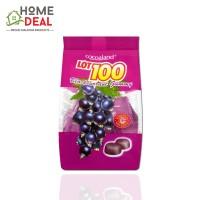 Lot 100 Fruity Gummy Blackcurrant 100g