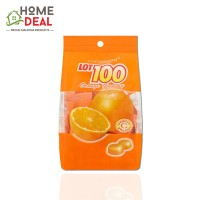 Lot 100 Fruity Gummy Orange 100g