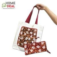 Batik Folding Tote Bag